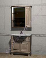 """Мебель для ванных комнат из дерева """"Челси-2 УОРВИК-85R береза"""""""
