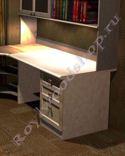 Письменный стол для школьника  цвета березы