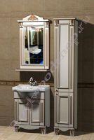 """Мебель для ванной прованс """"Руссильон PROVENCE-65 светлое дерево"""" с зеркалом"""