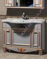 """Тумба с раковиной для ванной комнаты """"Руссильон PROVENCE-100 светлое дерево"""""""