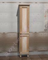 """Шкаф-колонка для ванной комнаты """"Челси-1 Алекс-1"""" (правое открывание)"""