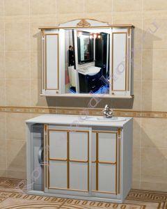 """Комплект для ванной """"Руссильон PROVENCE Комби-L белый"""""""