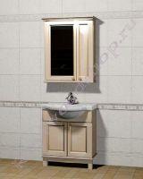 """Комплект мебели для ванной из дерева """"Челси-1 АЛЕКС-75 береза"""""""