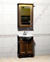 """Мебель для ванной комнаты из дерева """"Челси-1 АЛЕКС-60R орех"""""""