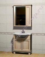 """Мебель для ванных комнат """"Челси-1 АЛЕКС-80R береза"""" фото"""