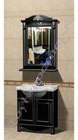 """Комплект мебели для ванной """"Руссильон PROVENCE-65 черное дерево"""""""