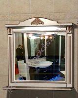 """Зеркало для ванной """"Руссильон PROVENCE-100 светлое дерево"""""""