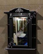 "Зеркало-шкаф  ""Руссильон PROVENCE-75 черное дерево"""