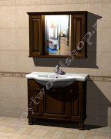 """Мебель для ванной комнаты """"Челси-2 УОРВИК-100 орех"""""""