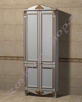 "Шкаф-пенал для ванной комнаты ""Руссильон PROVENCE-2 светлое дерево"""