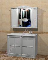 "Комплект мебели в ванную комнату ""Руссильон PROVENCE Комби-L белый"""